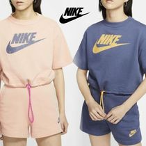 【NIKE】W NSW ICN CLSH TOP&SHORT FT☆セットアップ