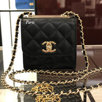 20Metier d'Art!CHANEL ミニポシェット♪TRENDY CC BLACK G金具