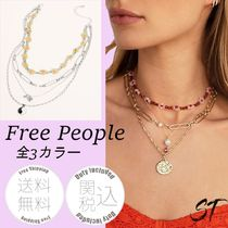 Free People Sweetwaterレイヤードネックレス 送料関税込 日未入