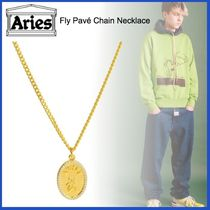 20AW◇LUXURYストリート◆ARIES◆Fly Pave Chain Necklace