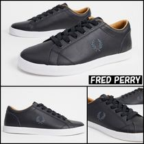 【FRED PERRY】Baseline サイド ロゴ レザー スニーカー ♪