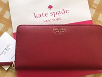即発★Kate Spade★Cameron Large Continental Wallet★rosso