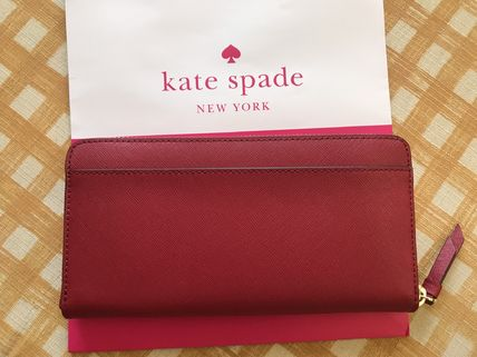 kate spade new york 長財布 即発★Kate Spade★Cameron Large Continental Wallet★rosso(2)