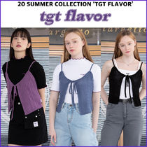 TARGETTO★韓国人気ブランド KNITTED BUSTIER 全3カラー