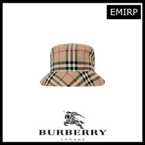 Burberry ギフトにも♪ヴィンテージチェックBabyコットンハット