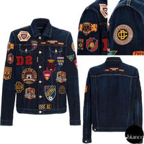 関税込DSQUARED2 2020FW College Patch Dan Denim Jacket ロゴ