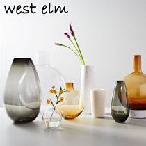 大人気★west elm★Foundations Vases 花瓶 10in Glass Vase