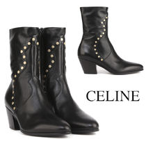 CELINE Cubaine Medium Boot in Calfskin