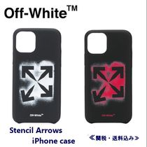 Off-Whiteオフホワイト/Stencil Arrows iPhone ケース