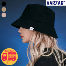 VARZAR Herringbone label bucket hat BBM1382 追跡付