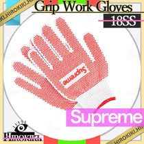 18SS /Supreme Grip Work Gloves グリップ ワーク グローブ 軍手