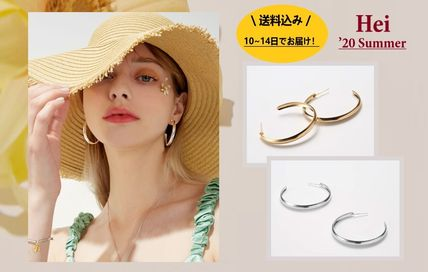 日本未入荷★Hei★'20summer / banana hoop earring 2color