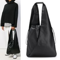 【Maison Margiela】MM6 Gathered Drawstring Tote Bag ブラック