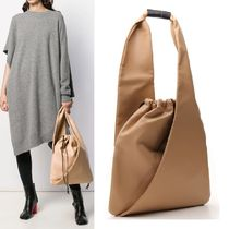 【Maison Margiela】MM6 Gathered Drawstring Tote Bag ベージュ