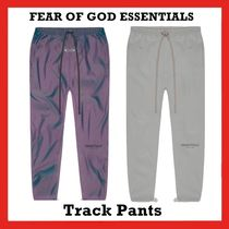 FEAR OF GOD ESSENTIALS Track Pants Silver Iridescent SS 20