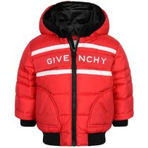 2020AW GIVENCHY BABY ロゴパッファジャケット RED (CP-36m)