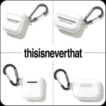 [ thisisneverthat ]★T-Logo AirPods & AirPods Pro Case Clear