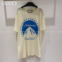 GUCCI☆COTTON JERSEY Tシャツ PARAMAUNT PRINT☆492347 X3Q18