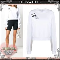 20AW☆送料込【OFF-WHITE】 Atmosphere Arrows トレーナー