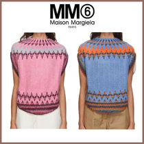 関税込【MM6 Maison Margiela】Fair Isle Circle ニット 2色