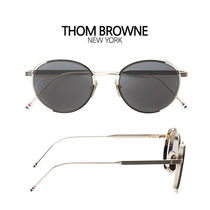 【 THOMBROWNE  】TB-106-A-BLK-GLD-50 サングラス