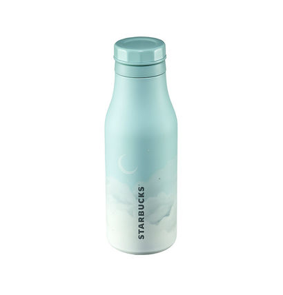 Starbucks SS blue sky cold cup 473ml☆