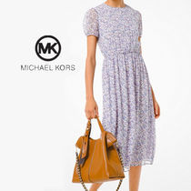 Michael Kors☆Floral Georgette Dress ドレス☆送料込