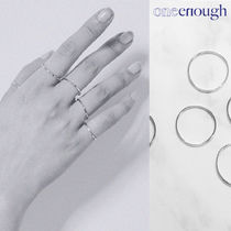 [oneenough] Mikro Five Ring Set Silver リング★BLACKPINK着用