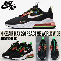 ★Nike★大人気★Air Max 270 React SE World Wide★追跡可