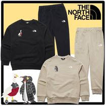 新作★関税込★The North Face★K'S GRAPHIC SWEATSHIRTS EX SET