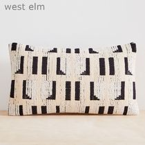 west elm Abstract上質でスタイリッシュクッション(本体付き)