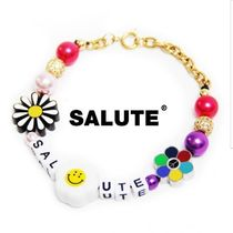【SALUTE】FLOWER ANARCHY COLOR BEEDS CHARMS LETTERING