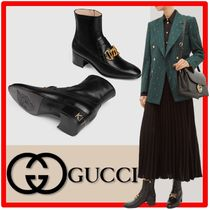 ☆韓国の人気☆グッチ☆GUCCI☆HORSEBIT CHAIN BOOTS☆