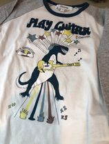 20AW【Bonpoint】PLAY GUITAR Tシャツ 6~8A