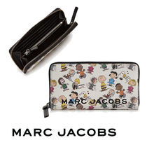◎MARC JACOBS◎Box Peanuts Leather Continental Wallet 財布
