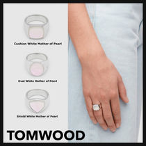 Tom Wood(トムウッド) 指輪・リング 関税送料込【TOMWOOD】White Mother of Pearl Ring