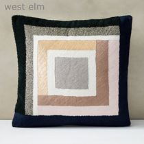 west elm Embellishedスタイリッシュクッション(本体付き)