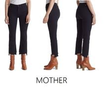 大人気★MOTHER★The Insider Two Step Fray Hem Crop デニム