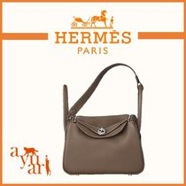 HERMES★Lindy リンディ 26 ★Etoupe 26