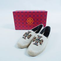 Tory Burch::NES EMBELLISHED ESPADRILLE:11[RESALE]