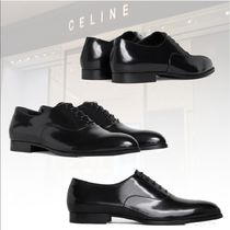 新作★CELINE★RICHELIEU DRUGSTORE IN GLAZED CALF 革靴