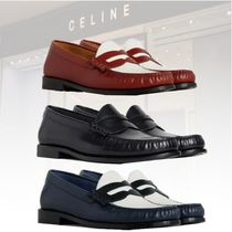 ★新作★CELINE★LUCO LOAFER IN GLAZED CALF ローファー