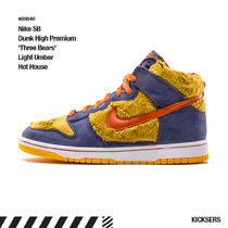 人気話題レア!Nike SB Dunk High 'Three Bears' Hot House