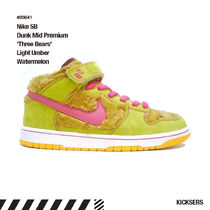 人気話題レア!Nike SB Dunk Mid 'Three Bears' Watermelon
