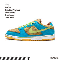 人気話題レア!Nike SB Dunk Low 'Three Bears' Grasshopper