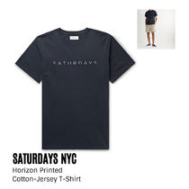 {Saturdays NYC} Printed Cotton-Jersey T-Shirt 送料関税込