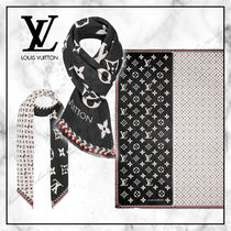◆Louis Vuitton 20AW 最新◆ LV CRAFTY BI COLORストール ◆ 黒
