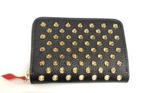 CHRISTIAN LOUBOUTIN	 Coin Purse	1185064	CM6S		BLACK/GOLD