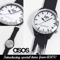 ASOS◆Hype black and white watch◆送料込