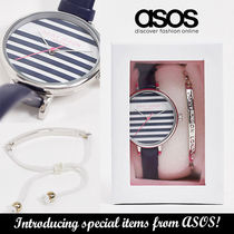 ASOS ギフトにも◆Daisy dixon striped face watch